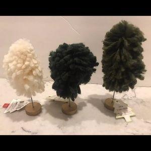 NEW Target BP Yarn Decor Trees Christmas 2020